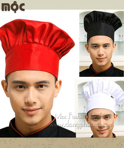 Áo bếp, nón bếp, tạp dề bếp may sẵn giá rẻ