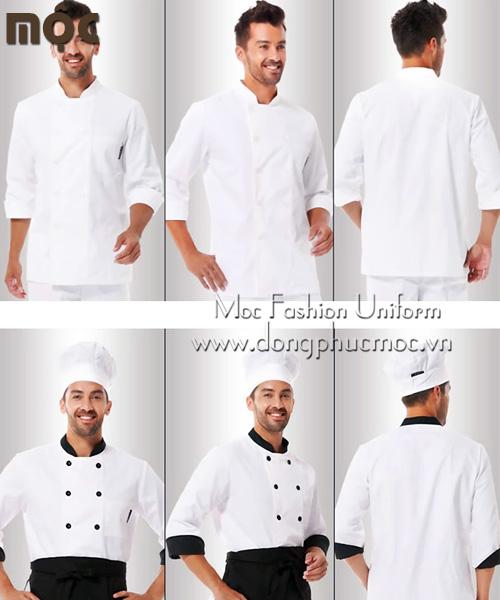 Áo bếp nhà hàng khách sạn