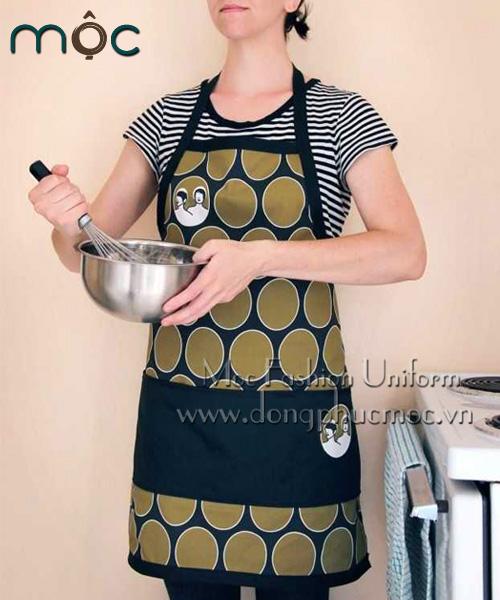 Tạp dề bếp, áo yếm bếp đẹp, giá rẻ tại Đồng Phục Mộc