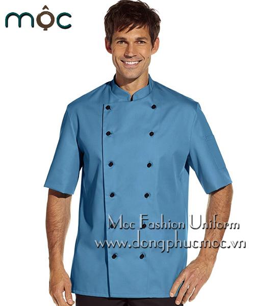 Áo bếp nam đẹp, giá rẻ, chất lượng tại Đồng Phục Mộc