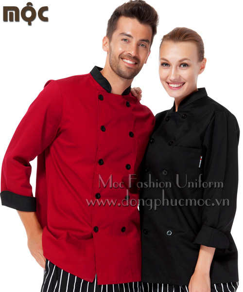 đồng phục bếp giá sỉ 2