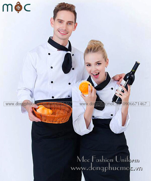 đồng phục bếp giá sỉ 3