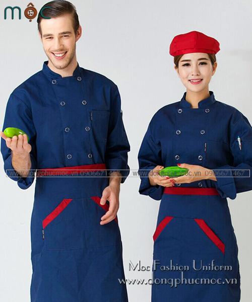 Thiết kế đồng phục bếp 2